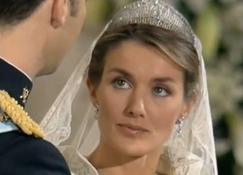 Letizia als Braut
